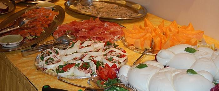 Buffet Hotel Villa Ida Savona