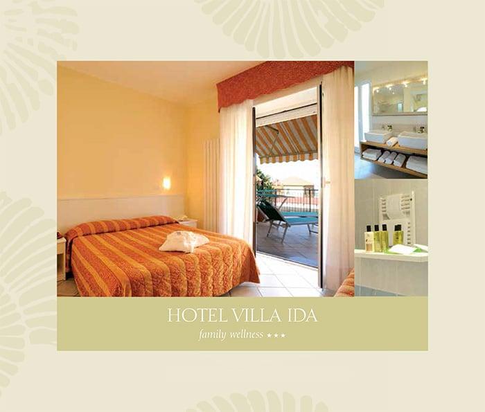 Camere hotel Villa Ida Laigueglia