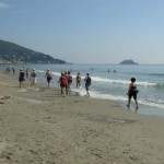 Nordic walking in Liguria