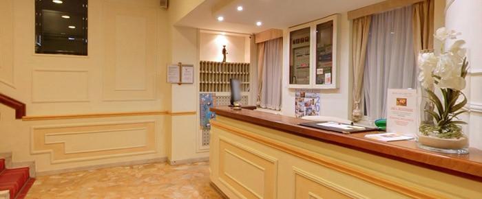 Reception Hotel Laigueglia